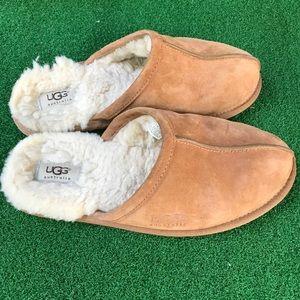 UGG Scuff suede slipper men's 8